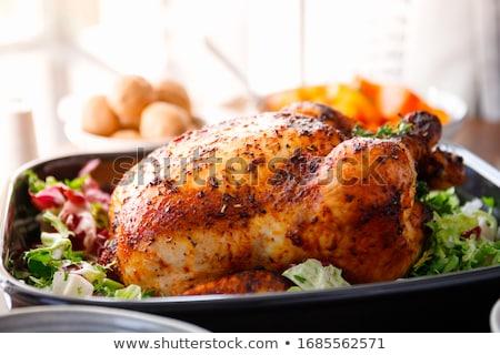 Stok fotoğraf: Roasted Poultry