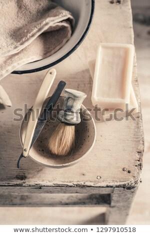 borstel · toiletartikelen · schoonheid · groep · vloeibare · zeep - stockfoto © alphababy