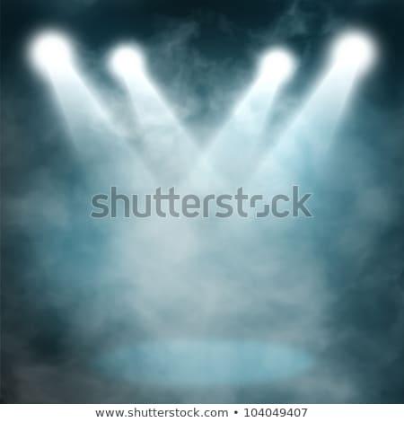 Stock fotó: Hideg · füst · kék · fekete · tűz · absztrakt