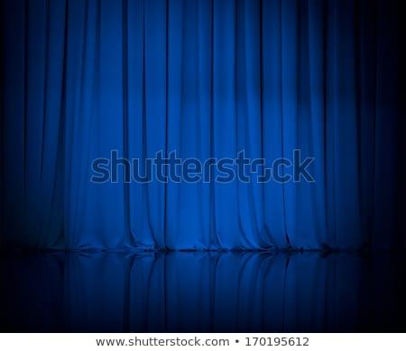 niebieski · ilustracja · projektant · moda · tle · tkaniny - zdjęcia stock © dvarg