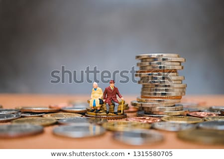 Saving for retirement concept Stock photo © Ansonstock