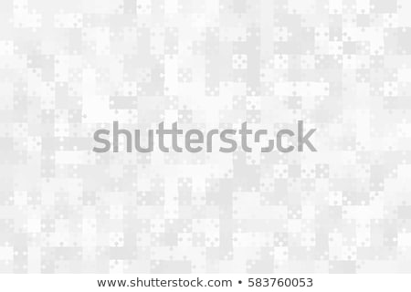 Abstract vector puzzle background Stock photo © orson