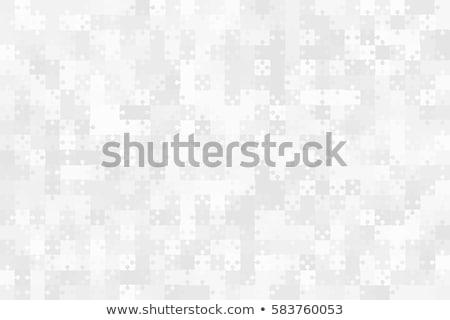 Streszczenie wektora puzzle tle niebieski tęczy Zdjęcia stock © orson