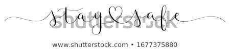 seguro · coração · 3D · prestados · vermelho · armazém - foto stock © garyfox45116