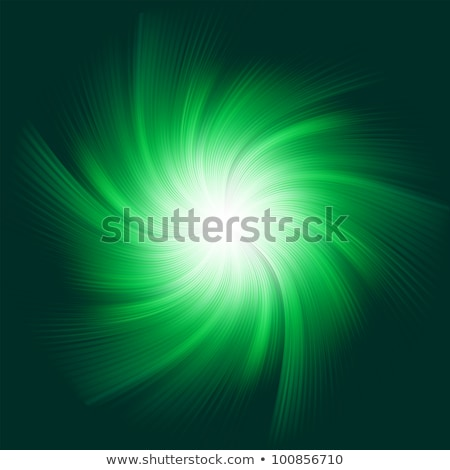 Green Twirl Background. EPS 8 Stock photo © beholdereye