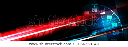 Stock photo: Race Car Speed Flames Background