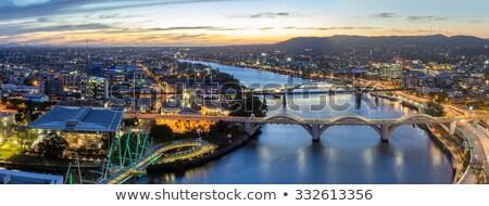 моста · ночь · Брисбен · Австралия · город · Квинсленд - Сток-фото © mroz