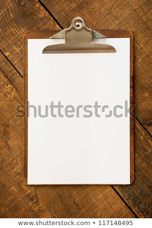 Clipboard with a blank paper  stock photo © JohanH