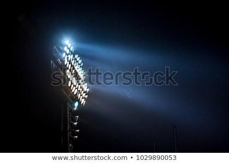 Stadion powodzi świetle Zdjęcia stock © epstock