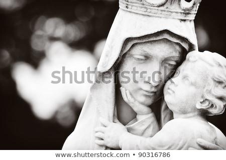 Maagd baby jesus vrouw liefde Stockfoto © chrisroll