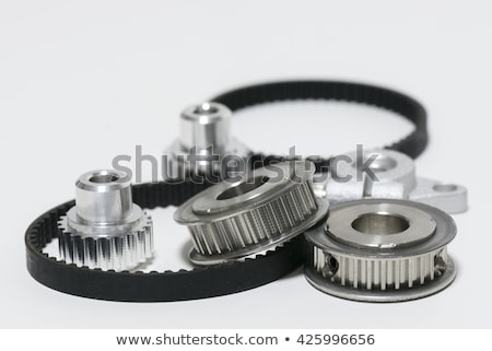 Two timing pulley Stock photo © RuslanOmega