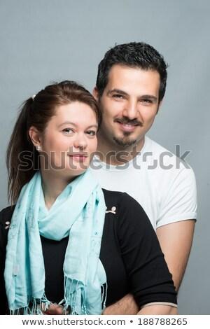 30 éves idős férfi ölel feleség férfi pár Stock fotó © photography33