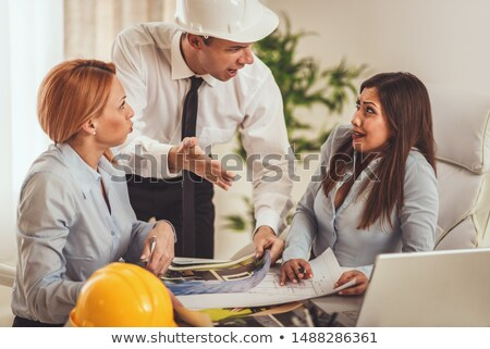 architect in his office looking angry Stock photo © photography33