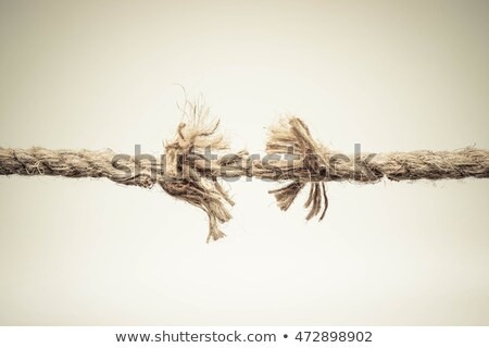 Breaking rope Stock photo © Stocksnapper
