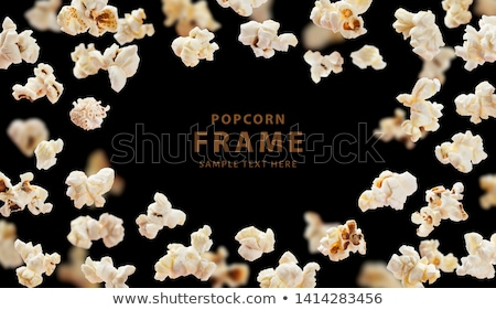 Popcorn Flying Stock photo © idesign