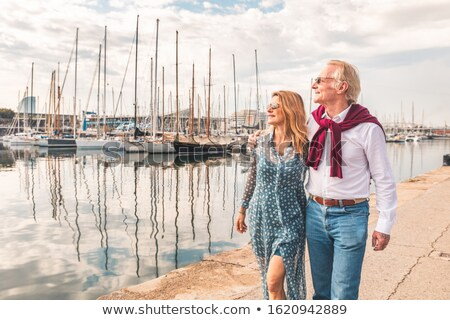 Couple enjoying a hot summer's day together Stock photo © photography33