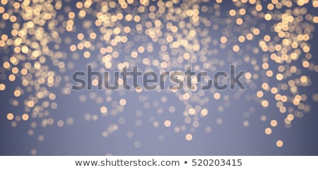 bokeh · or · Noël · résumé · lumières - photo stock © mythja