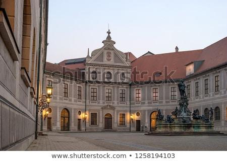Edificios Munich Alemania ciudad pared ventana Foto stock © haraldmuc