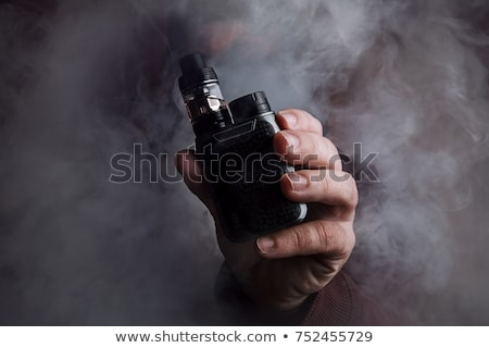 Stock photo: electric cigarette in box isolated