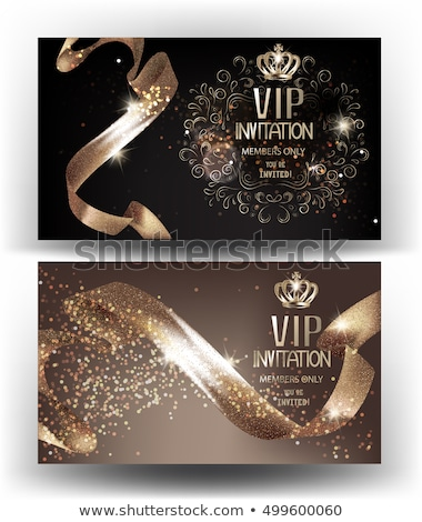 bronze vip club card stock photo © liliwhite