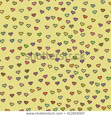 heart on the wall background stock photo © marimorena