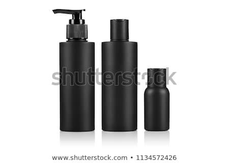 Nero shampoo bottiglia medici corpo vetro Foto d'archivio © ozaiachin