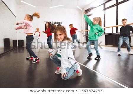 çocuk · sokak · dans · dansçı · dans · korkak - stok fotoğraf © godfer