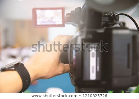 Professional Camcorder Stock photo © winterling