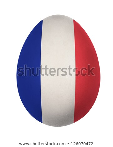 French flag in easter egg Stock photo © marinini