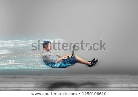 tecnologia · rápido · acelerar · internet · conexão · projeto - foto stock © lightsource