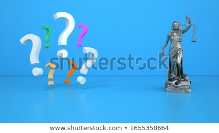 stratégie · solutions · questions · affaires · droite - photo stock © Lightsource