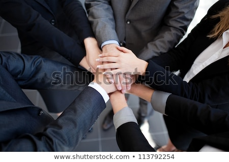 Business Team Joining Strategy Stock photo © Lightsource
