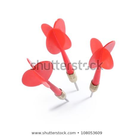 dart arrow on white background Stock photo © ozaiachin