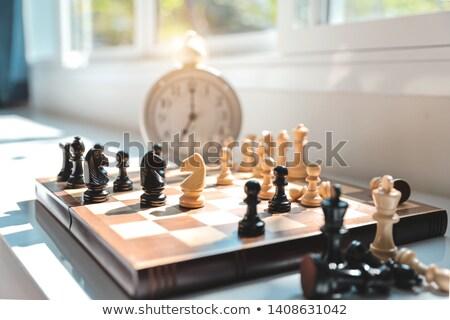 Döntés idő karrier üzletember kereszt utak Stock fotó © Lightsource