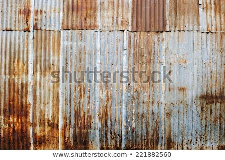corrugated iron fence Stock photo © Snapshot