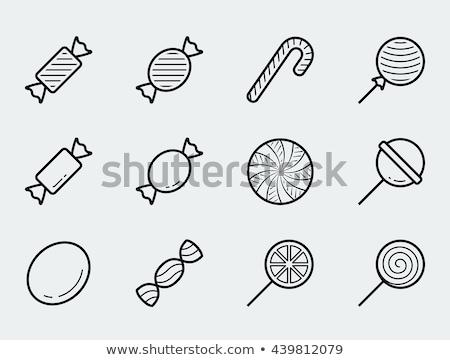 vector icon lollipop stock photo © zzve