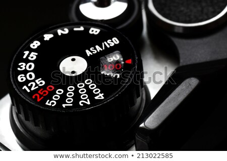Closeup of rangefinder camera Stock photo © Ronen