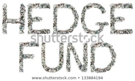 100 · woord · uit · geïsoleerd · witte - stockfoto © eldadcarin