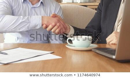 二人 握手 契約 お金 手 作業 ストックフォト © photography33