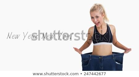portre · kadın · eski · pantolon - stok fotoğraf © wavebreak_media