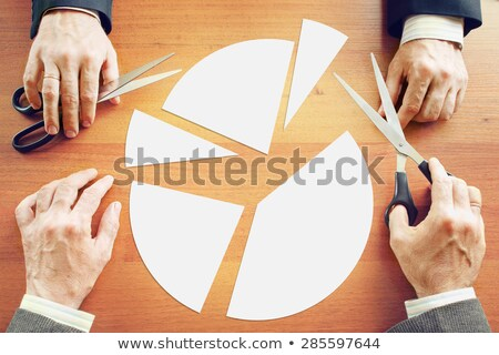 Dividing business profit Stock photo © 4designersart