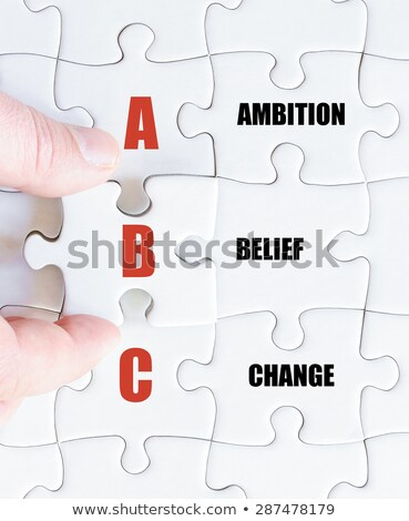 амбиция вера изменений стороны Дать белый Сток-фото © ivelin