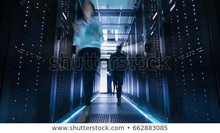 情報技術 時間 クロック コンピュータのキーボード 技術 ストックフォト © ifeelstock