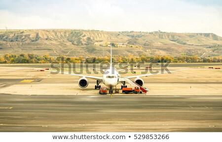 Santiago, Chile - International airport Stock photo © benkrut