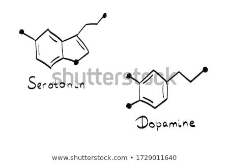 El kalem çizim kimyasal formül okul Stok fotoğraf © Zerbor