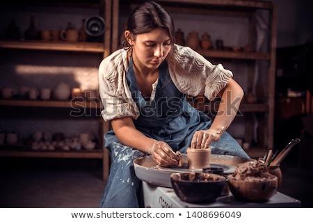 Artisan mains homme hommes société professionnels Photo stock © photography33
