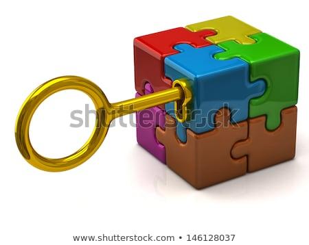 skills   golden key stock photo © tashatuvango
