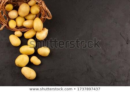 crudo · patatas · almuerzo · frescos - foto stock © raphotos