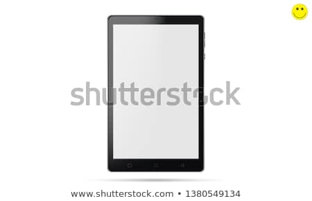 7 inch tablet pc isolated on white Stock photo © artjazz