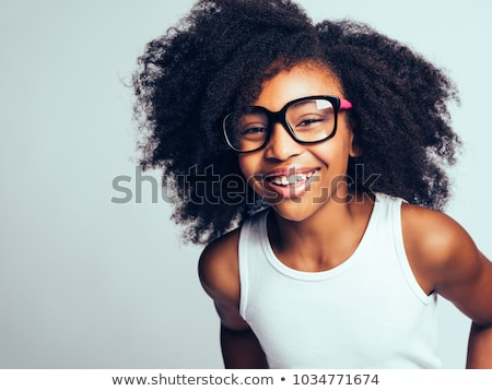 Stock photo: Portrait of african teenager